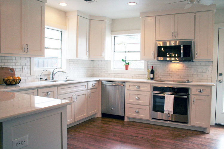 Small Kitchen Remodel - University Park, TX — Precision ...