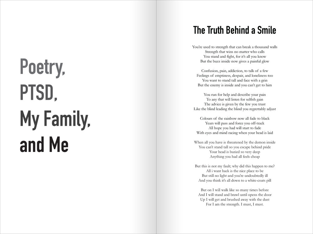 Poetry, PTSD, My Family, & Me; 2016
