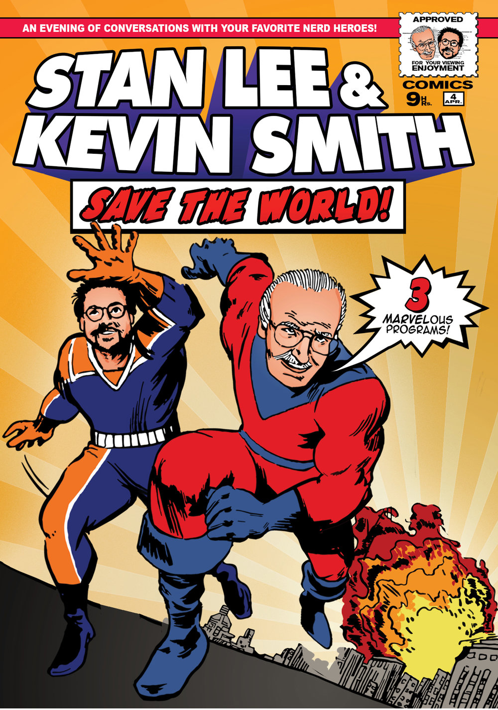 Stan Lee & Kevin Smith Save The World!