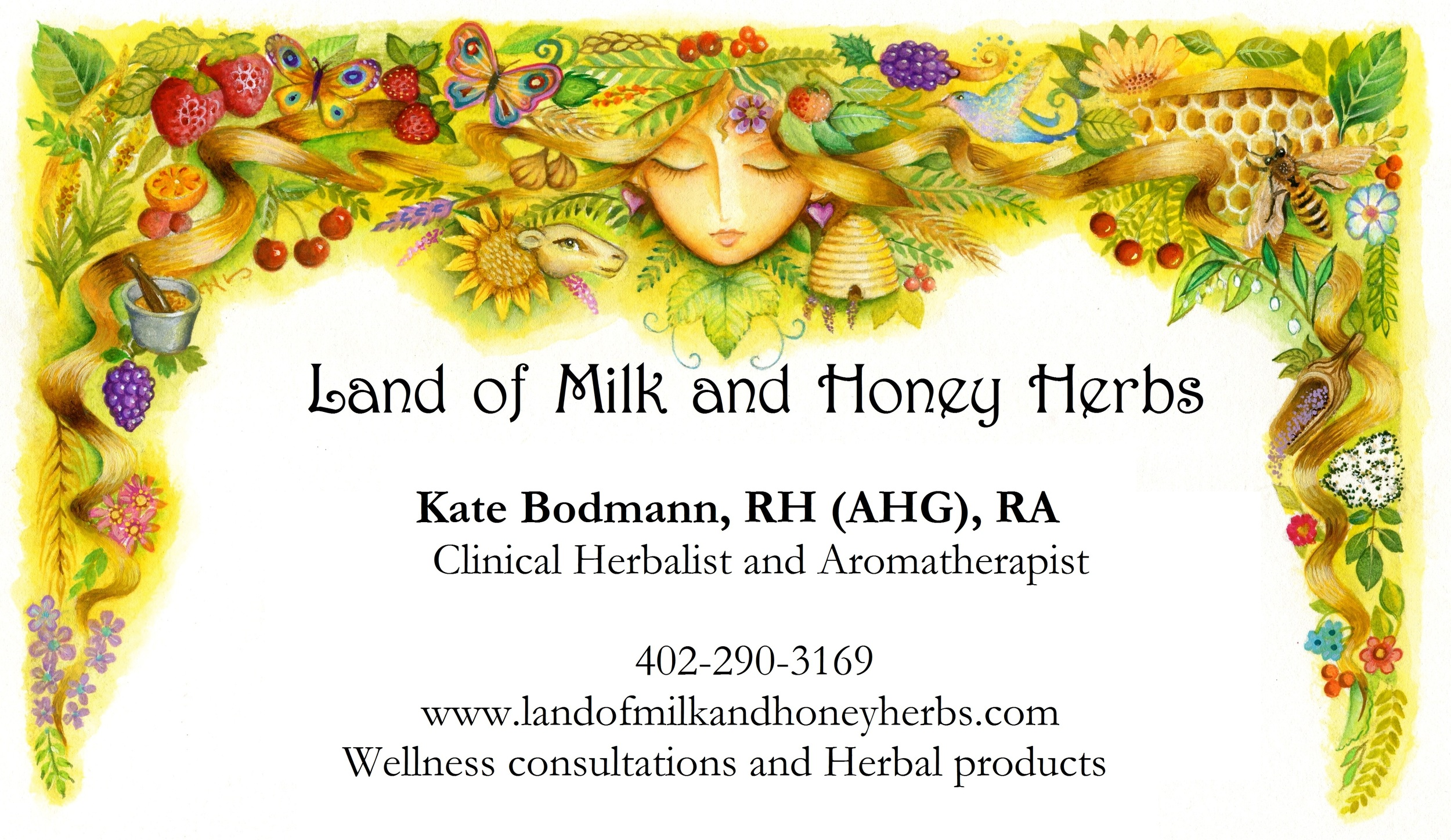 KATE BODMANN, Clinical Herbalist RH (AHG) — OMAHA WHOLE LIVING