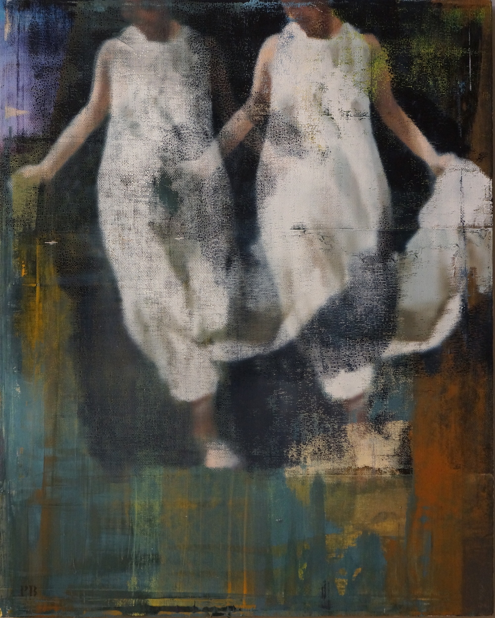 "Faith, Oil on Linen on Panel, 2014, 40"" x 32"""