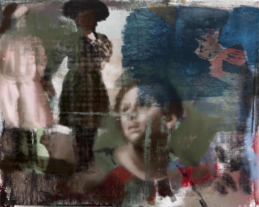 """Lost, Oil on Linen on Panel, 2010, 48"""" x 60"""""""
