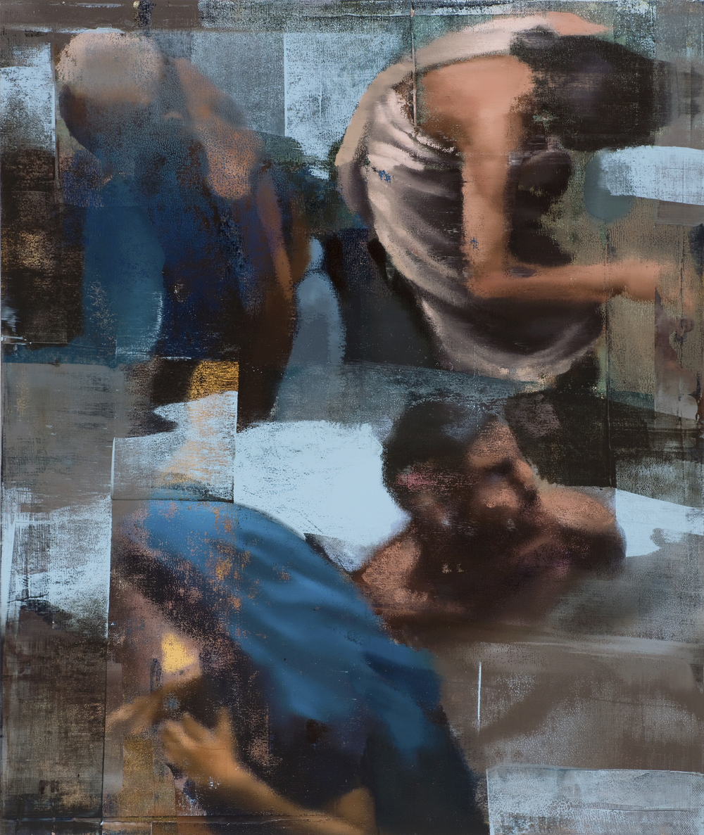 "Immersion, Oil on Linen on Panel, 2008, 48"" x 40"""