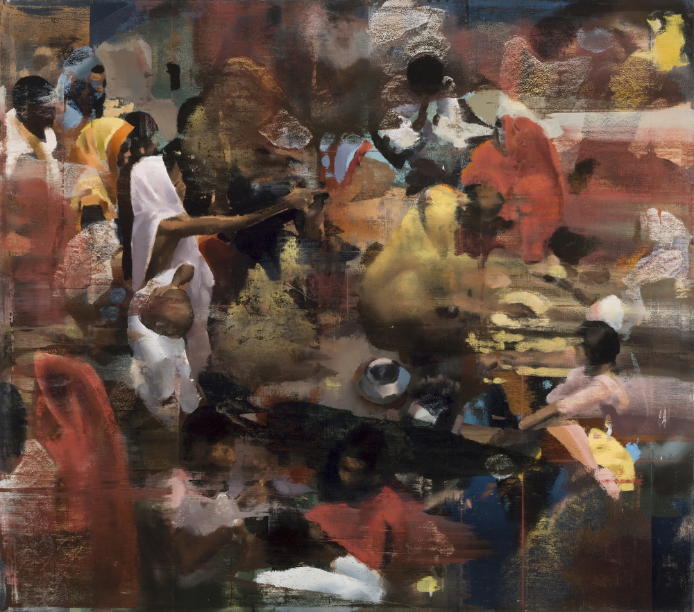 "Every Little Act, Oil on Linen on Panel, 2008, 60"" x 68"""