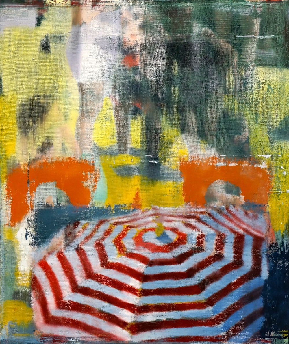 "Away, Oil on Linen on Panel, 2014, 36"" x 30"""