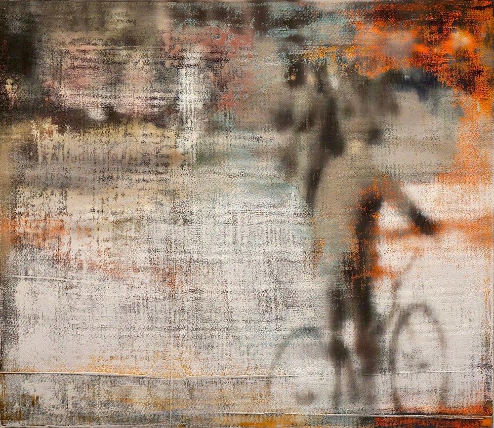 Buller I 2017 I Bicycle I 26x30 I Oil on Linen