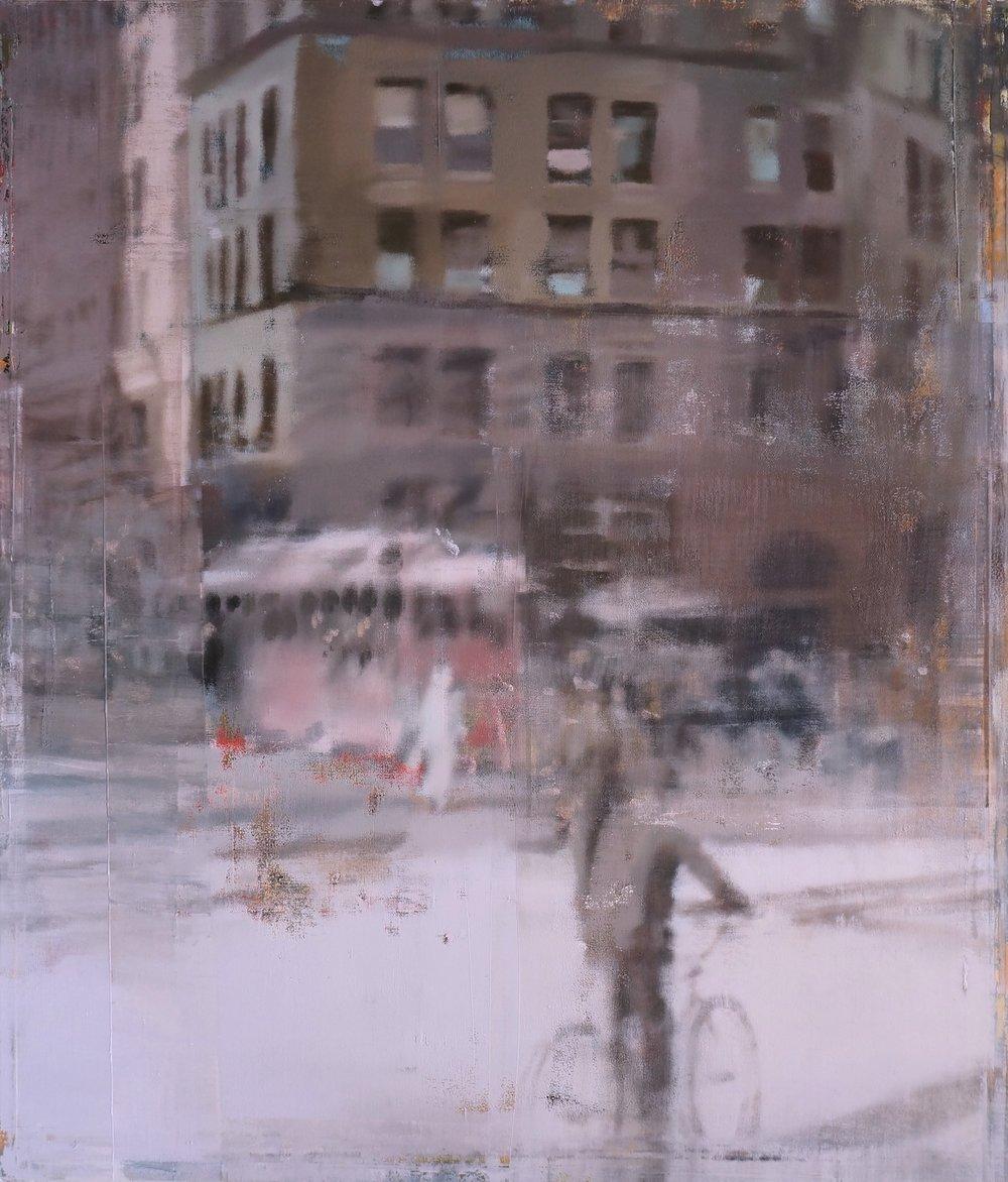 Buller I 2017 I The City I 56x48 I Oil on Linen