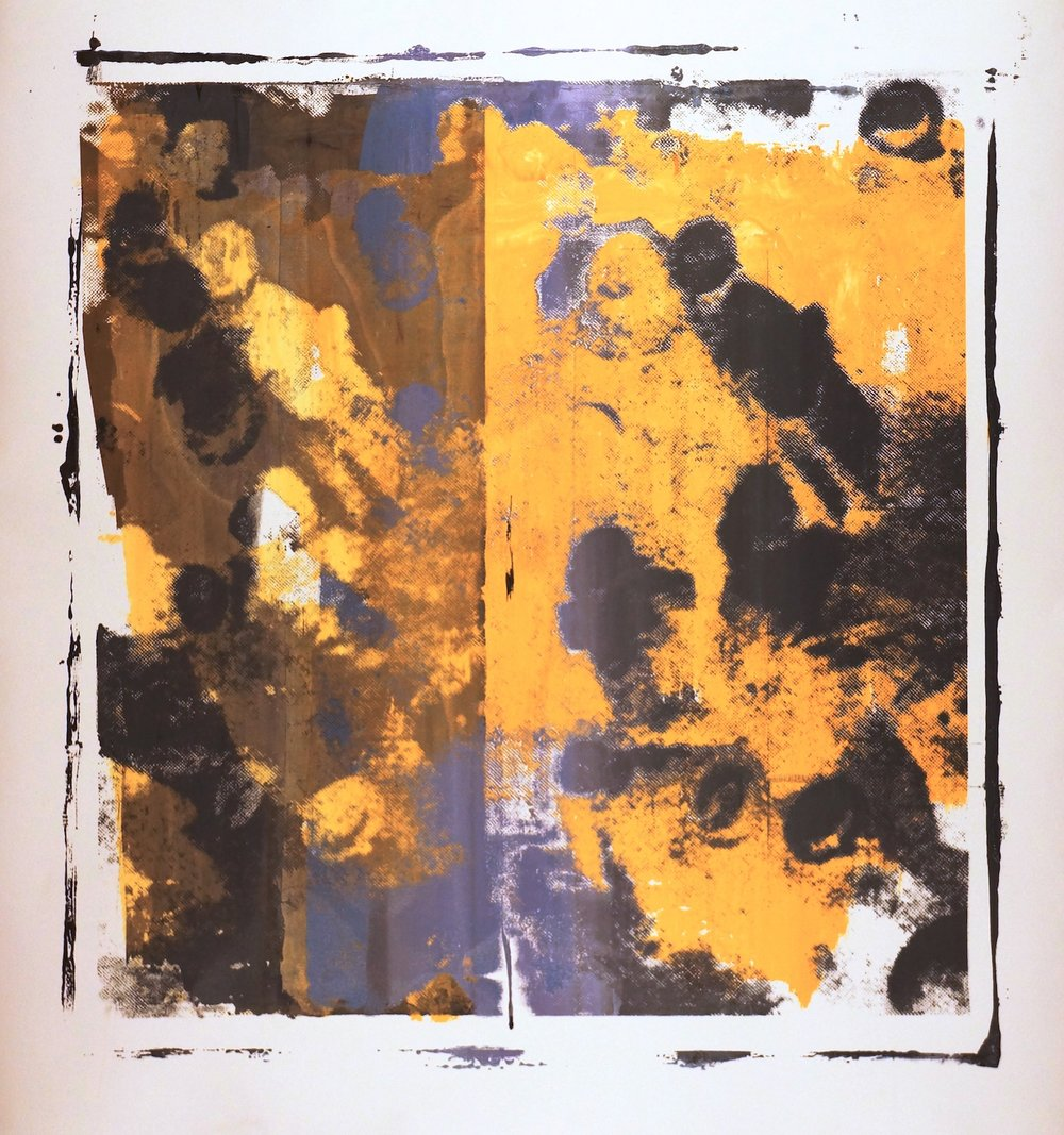Buller I 2017 I We Were I 51x48 OD I Oil on Resin Paper