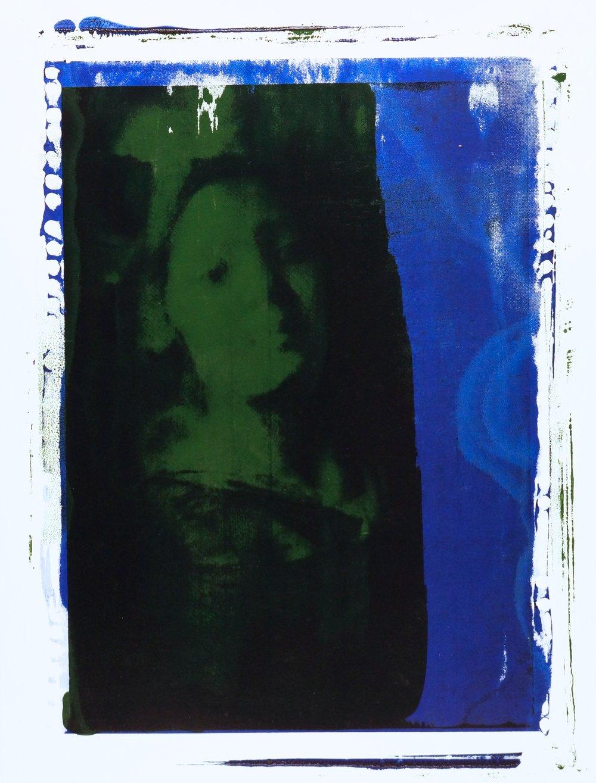 Buller I 2018 I Green Dark I 30x22 I Oil on Paper