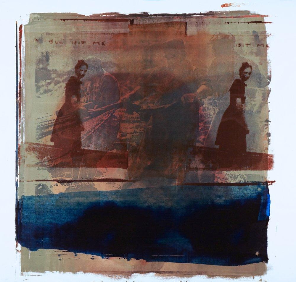 Buller I 2018 I Of The Sea I 51x48 I Oil on Paper