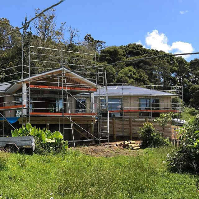 Perfect setting with amazing view in Henderson Valley. New build nearing completion.