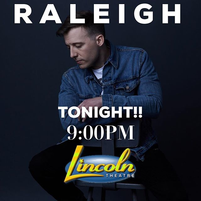 Tonight‼️ Raleigh, pull up #LincolnTheater