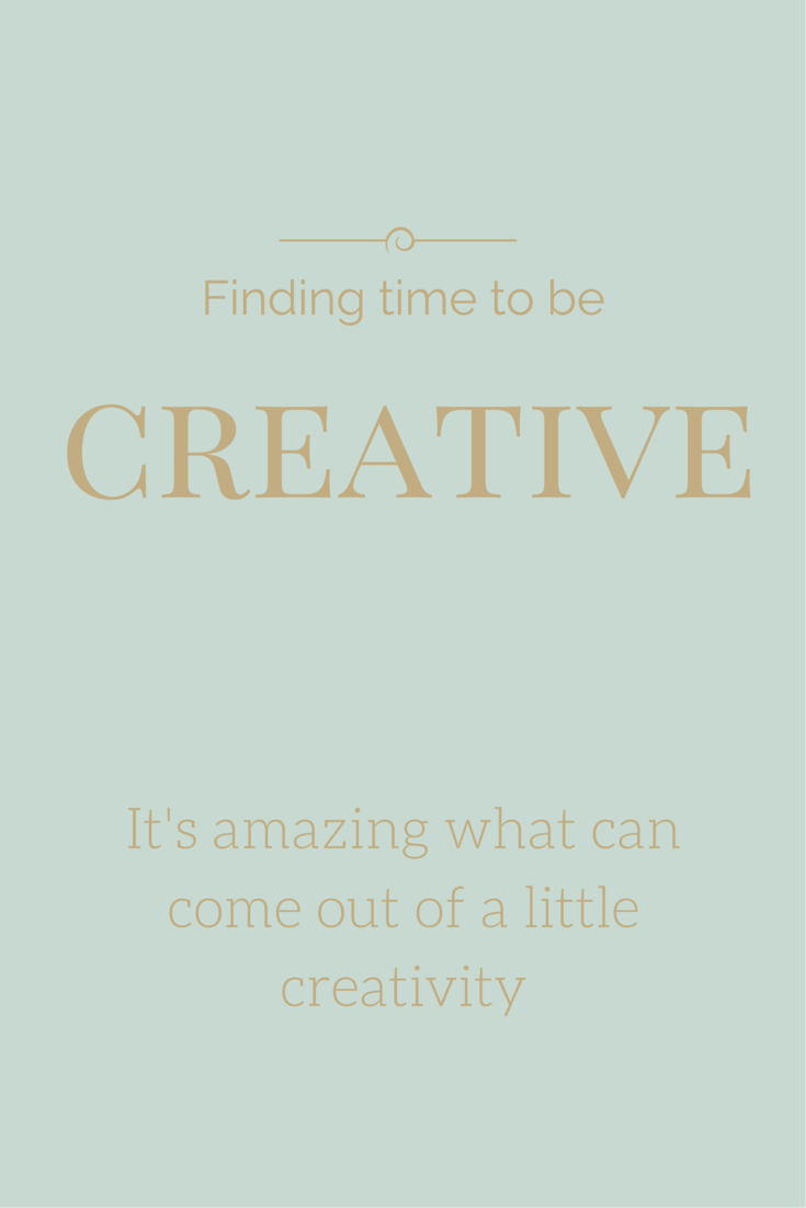 Finding time to be creative - Christy Haygood