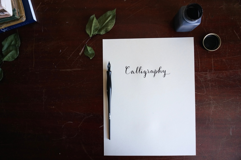 Modern calligraphy written in my Danielle font style.