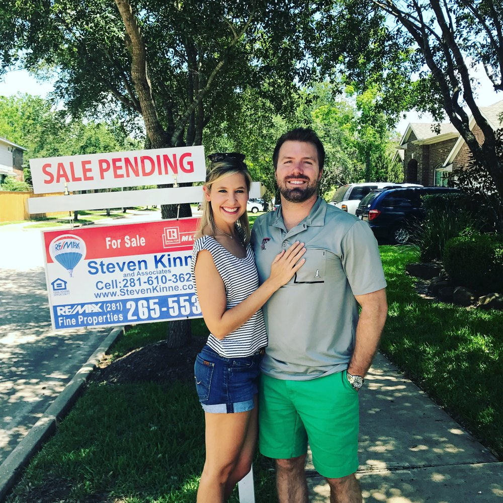 Former Oklahoma bride Teale and new husband Josh buy their first home as newlyweds.