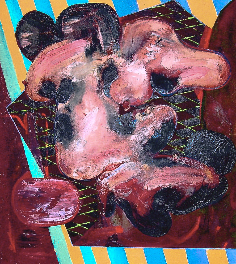 Psychosomatic 5  , 2005 Oil on canvas 24 x 22""