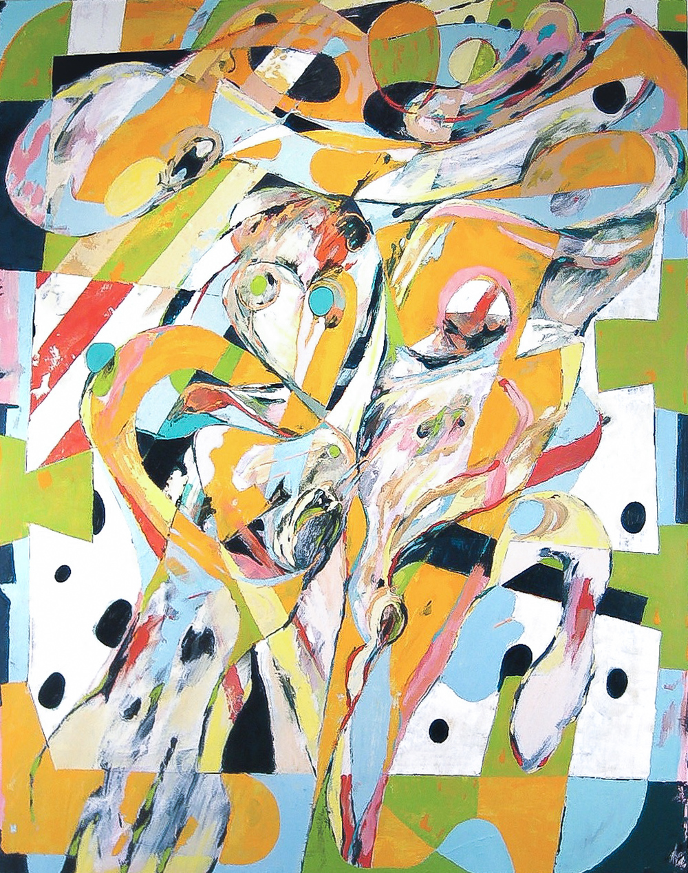 Untitled  , 2008 Oil on canvas 60 X 48""