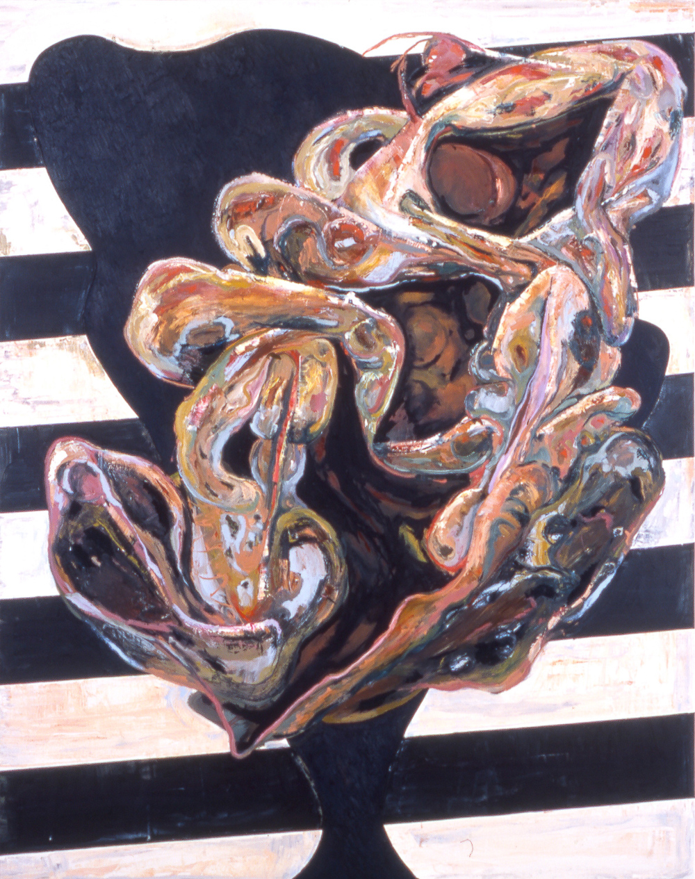 """Untitled , 2004   Oil on canvas   92 x 74"""""""