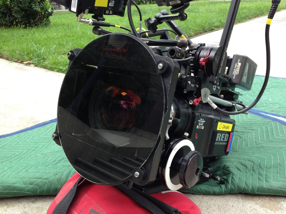 Camera set up for The Little Rascals.
