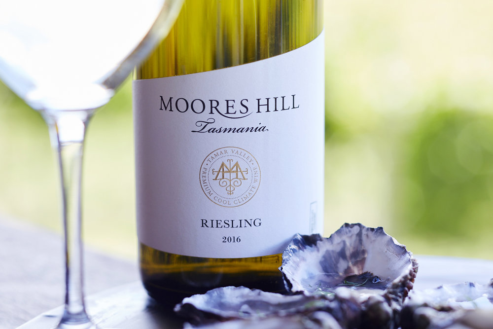 Oysters and Moores Hill Riesling are a great combination