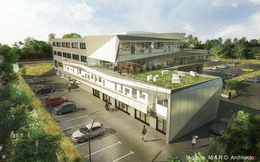 Architecte, Christian Maro dévoile le projet d'un accélérateur à Vern sur Seiche près de Rennes