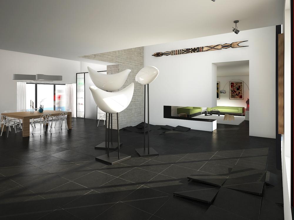 Architecture d'intérieur : le salon