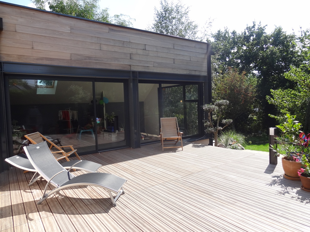 ABF Rennes : Extension d'une maison