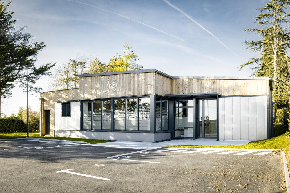 Office Notarial Guémené-Penfao Rennes (35) Maro Architectes construction 2.jpg