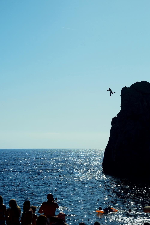 Cliffs of Capri, Lido De Faro.