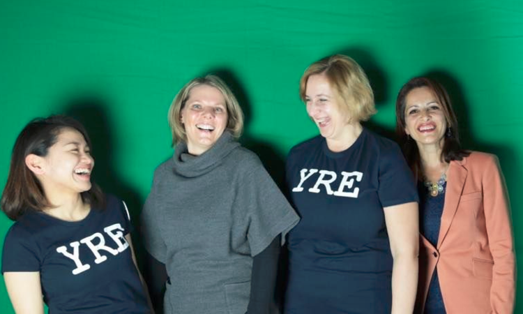 Launched today! Promotional video for YRE and the Global Action Days