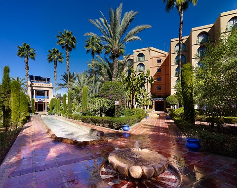 Le Meridien N'FIS in Morocco - A Green Key Hotel with a mission