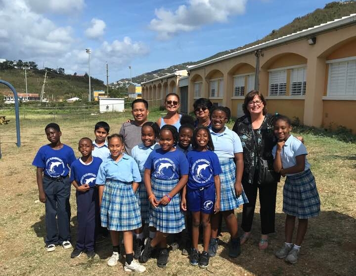Laura Hickey Travels to USVI for Mentor Visit and Eco-Schools Development