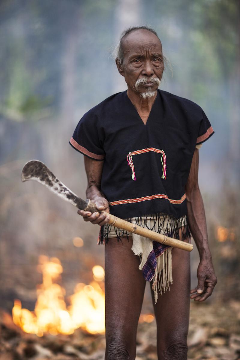 Tribesman. Assam, Northeast India. 2009.