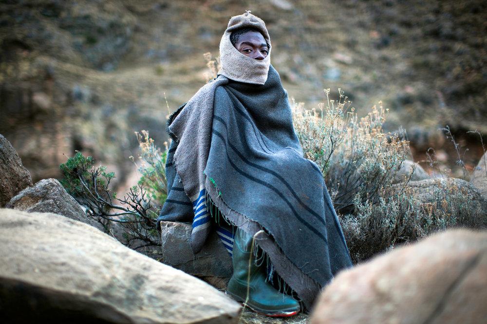 Sani Pass, Mokhotlong,Lesotho.2010.