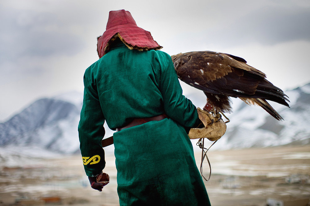 Eagle Hunter. Bayan-Ölgii, Western Mongolia. 2013.