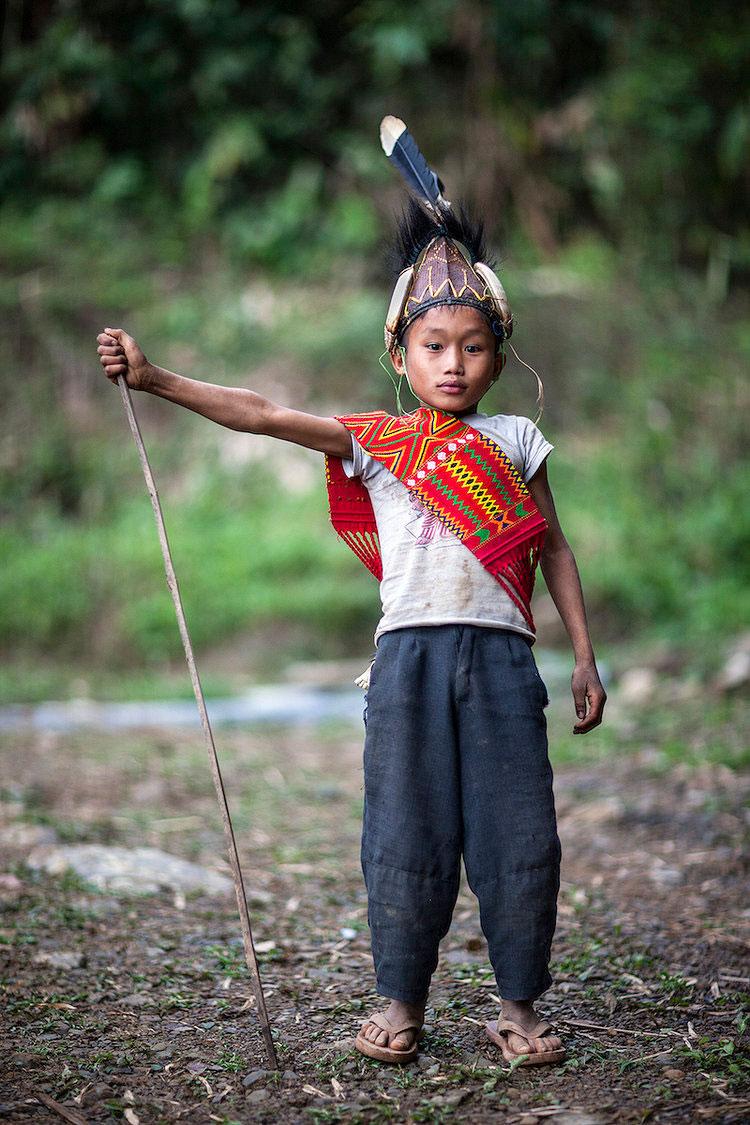 Young Konyak Boy. Nagaland, Northeast India. 2009.