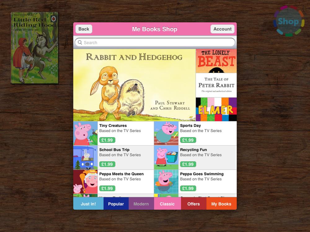 Me Books App