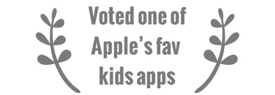 Voted one of Apple's fav kids apps