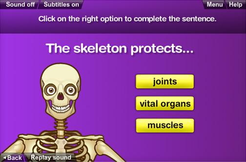 BBC Bitesize Anatomy