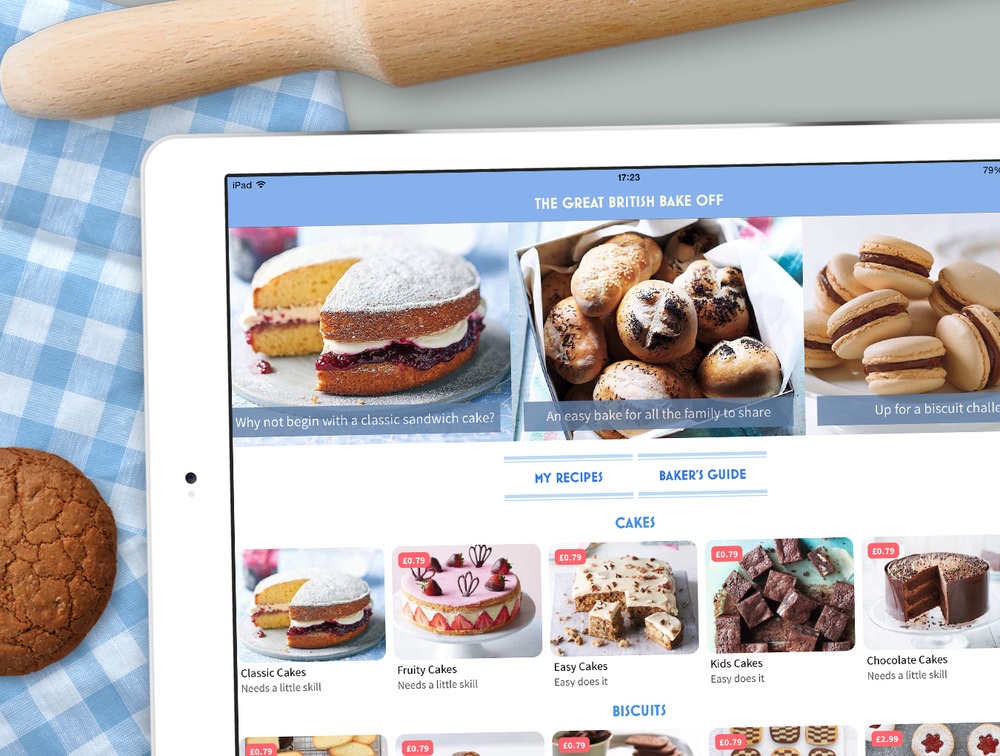 Great British Bake Off App Is Designed To Take You Step By Through The Methods Tips And Techniques Need Create Most Delicious Bakes
