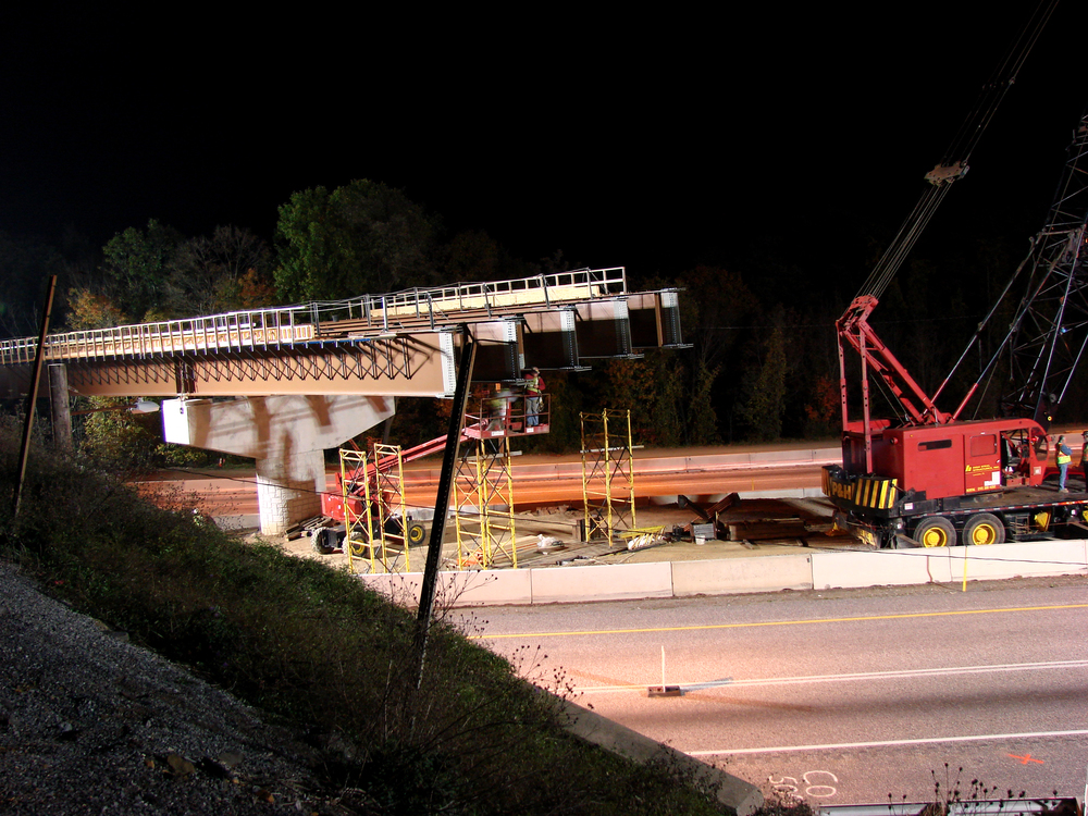 Girder Erection 10/16/06