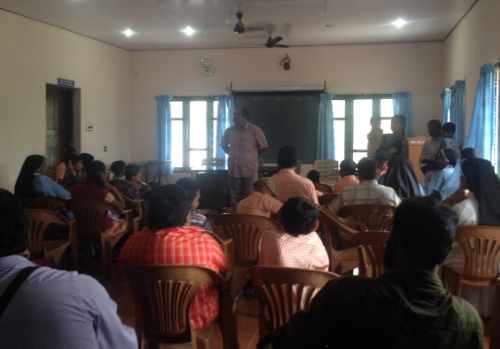 Introduction day for disabled children in Wayanad