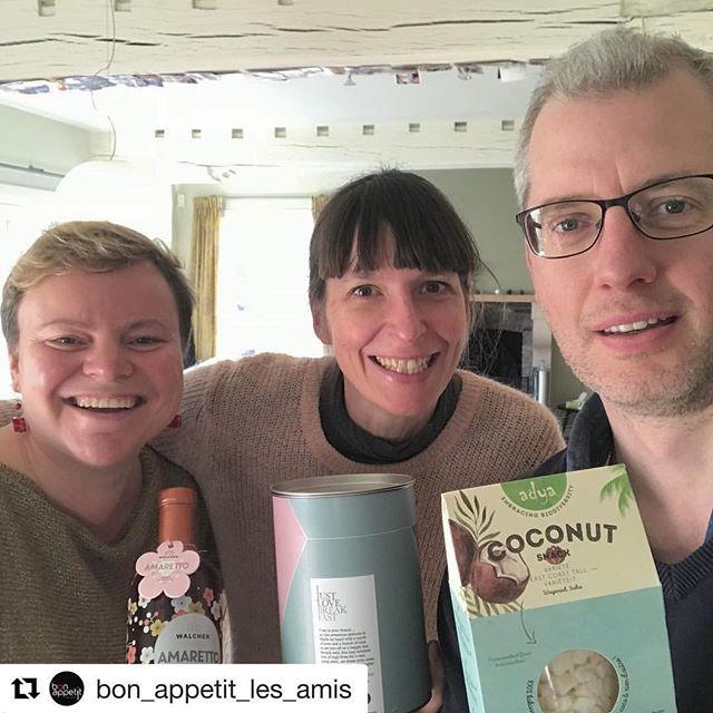 Ondernemen is samenwerken! Dankjewel aan Elke @bon_appetit_les_amis en Nathalie @ijustlovebreakfast  #repostapp check it out!