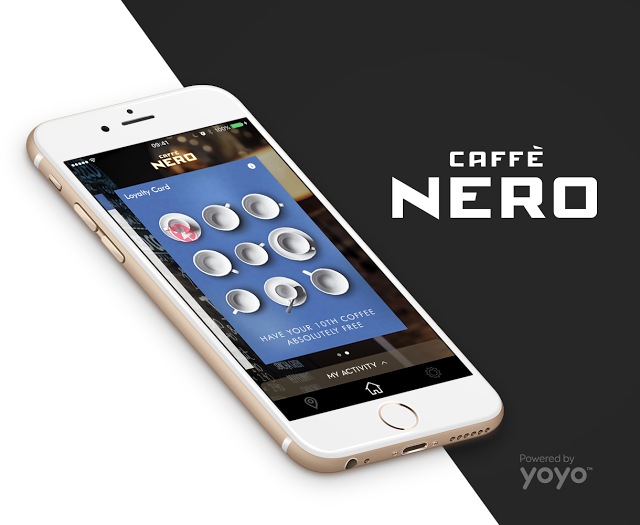 Yoyo Wallet Powers The New Caffè Nero App — Firestartr