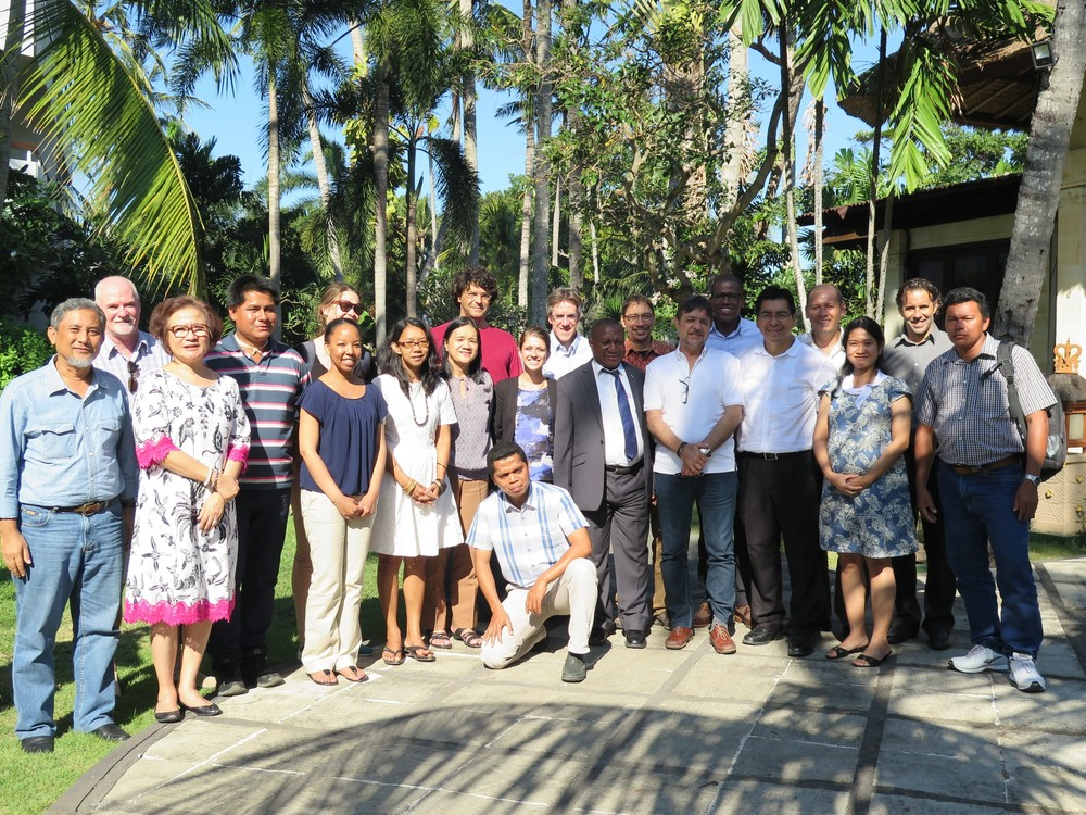 Global Steering Committee members and observers in Bali