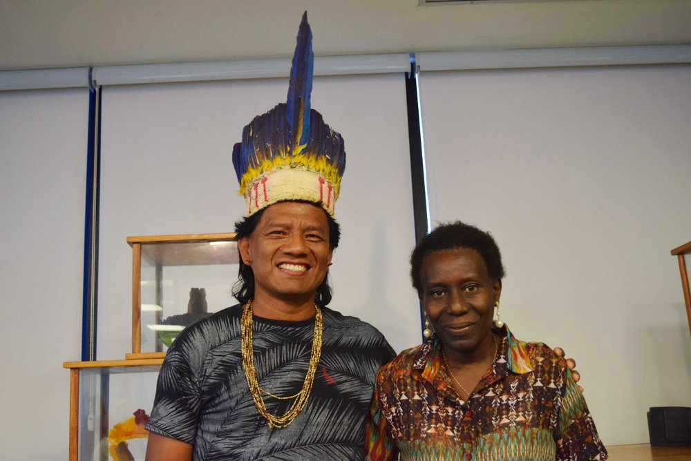 The indigenous Srewe Xerente and the quilombola Lucely Morais Pio, have been elected to lead and coordinate the National Steering Committee of DGM Brazil.