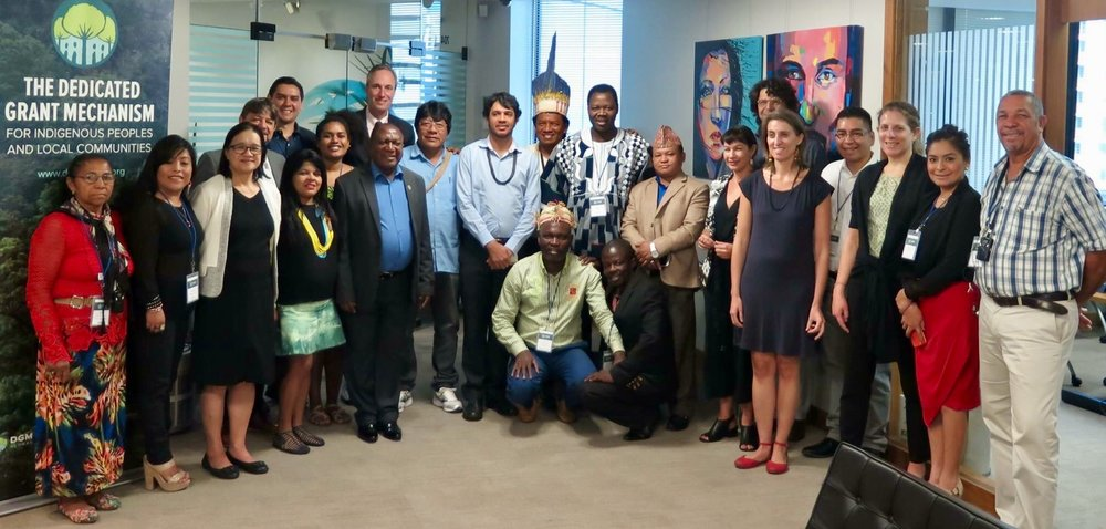 Members of the Global Steering Committee, together with key partners, gathered for the Third Annual GSC Meeting in Brasilia in April 2017 - Photo: DGM Global