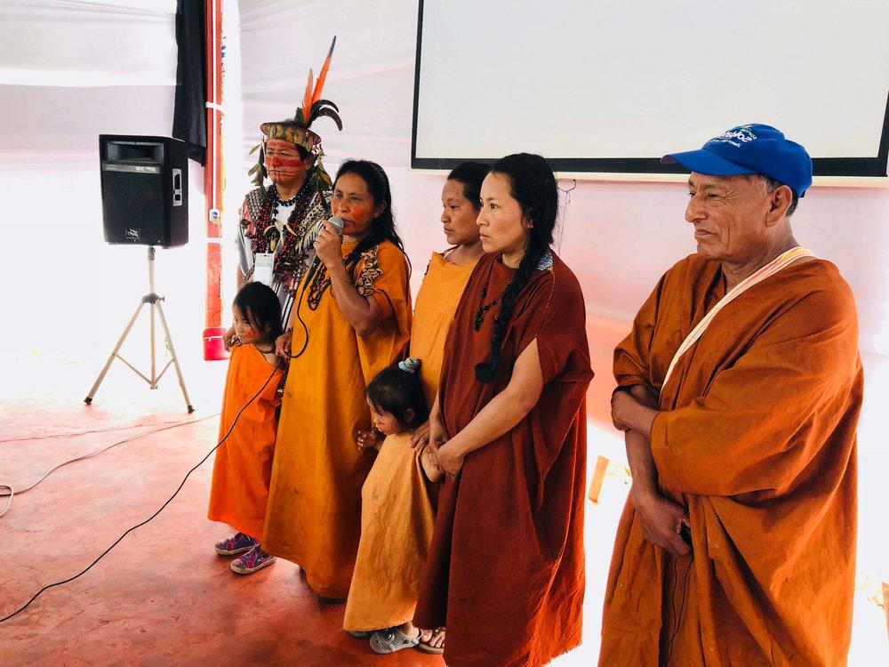 Mecanismo de Donaciones Específico para Pueblos Indígenas y Comunidades Locales Saweto - Documento del proyectoFinanciamiento: 5,5 millones de USDAprobación del Programa de Inversión Forestal: Mayo de 2015Aprobación del Banco Mundial: Septiembre de 2015Implementación: De octubre de 2015 a septiembre de 2020Comité Directivo Nacional: ListaOrganismo Nacional de Ejecución: WWF PerúPágina web del proyecto | Fondos de Inversión en el Clima | Banco MundialFacebook | Twitter | YouTube