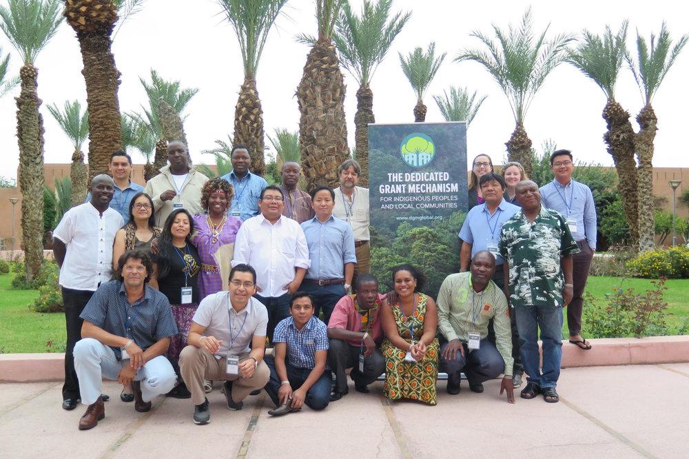 Échange mondial – Marrakech, Maroc - Novembre 201619 participants de PAPL (5 femmes)5 partenaires non membres de PAPL15 pays représentésPrincipaux thèmes traités : Politique climatique, financement climatique, REDD+, exercice de cartographie du financement climatique, messages pour la COP22, collaboration avec le FIPACC, tables rondes sur les CPDN et la Plate-forme des PAPLProgramme | Livret | Rapport