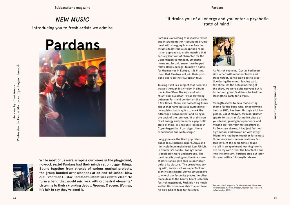 Pardans - Issue 12 Subbacultcha